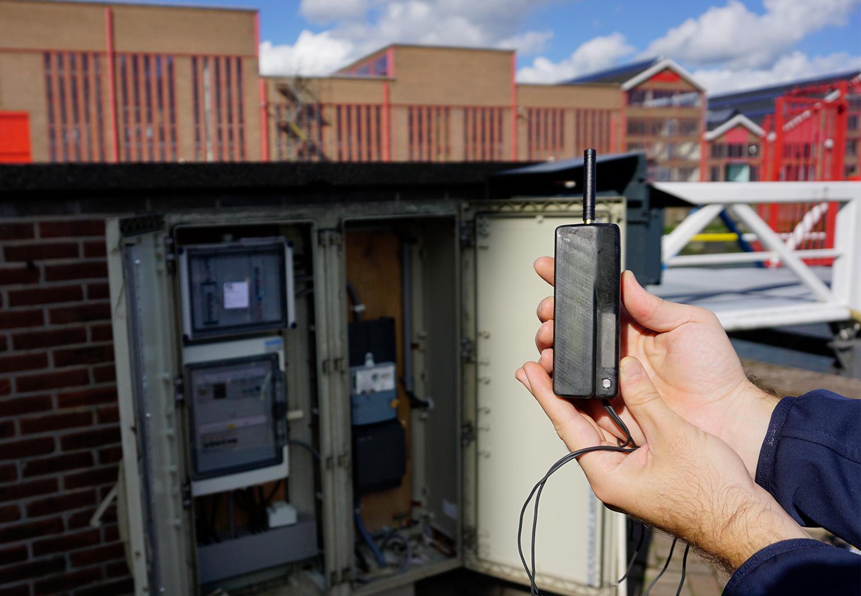 IoT in gebruik straatkast KPN slimme elektronica Connected Products Onderhoud